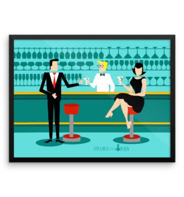Retro Cocktail Lounge
