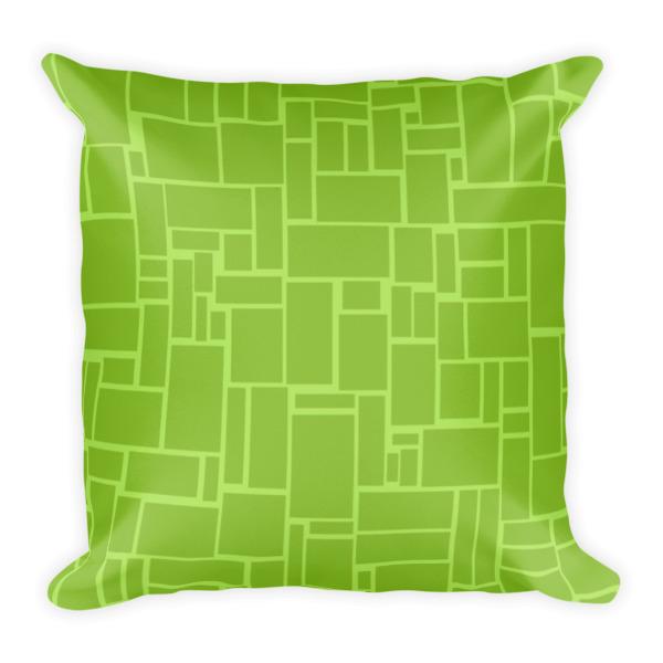 Mid Century Modern Couple Throw Pillow ? Strange Little Onion