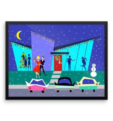 Retro Holiday Cartoon Party