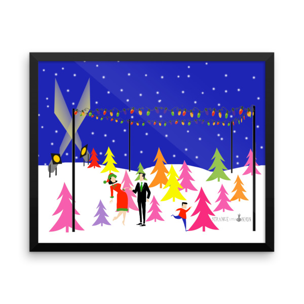 Retro Christmas Tree Farm